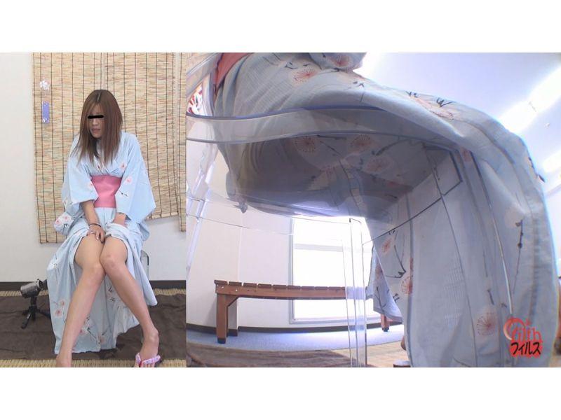 夏の終わりの浴衣着衣お漏らし 5