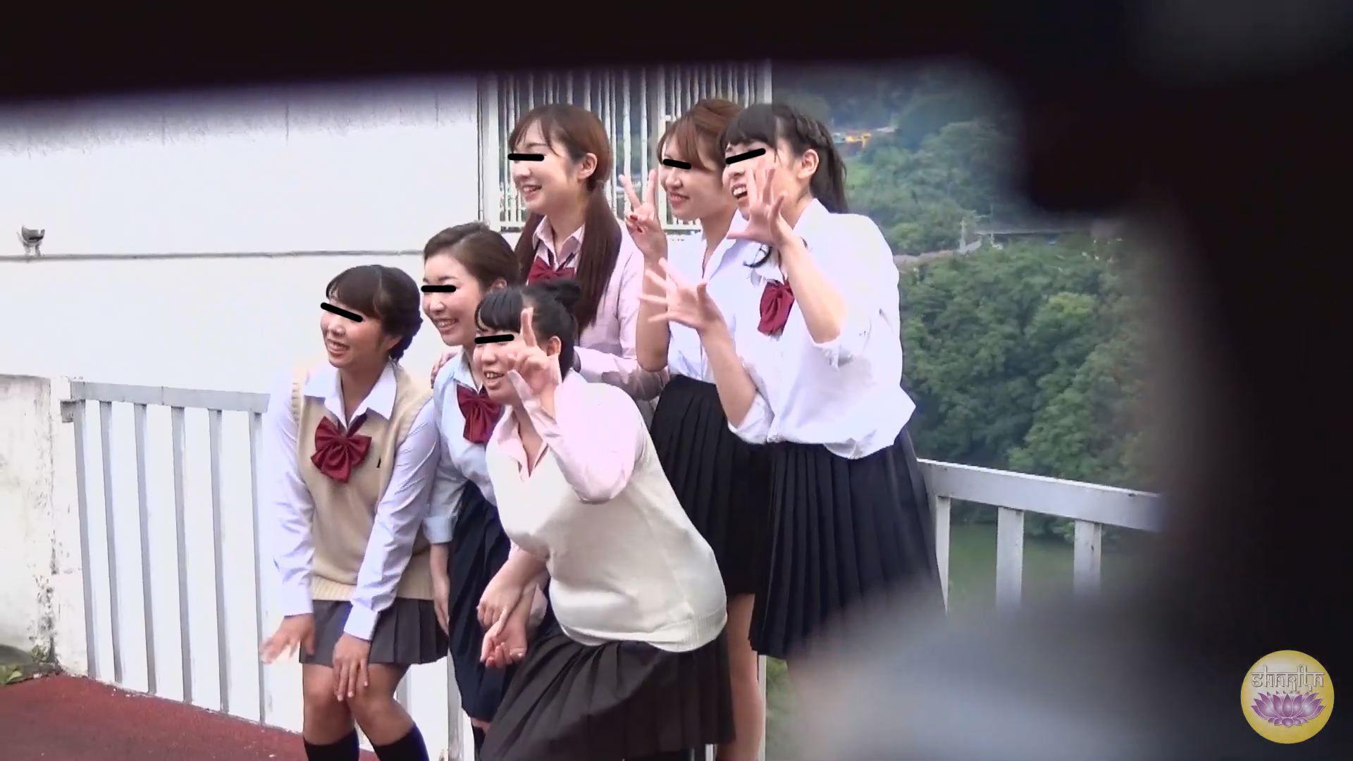 女学生隠撮 遠足野ションスポット 1