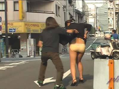 瞬撮スカートめくり なにわ淑女編 3