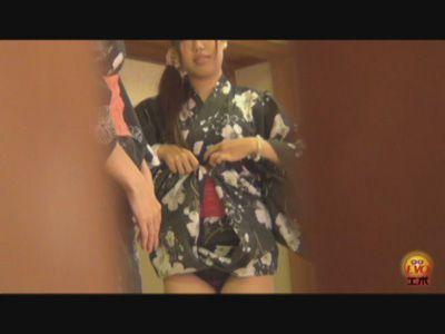 Peeping 浴衣うんこ! 3