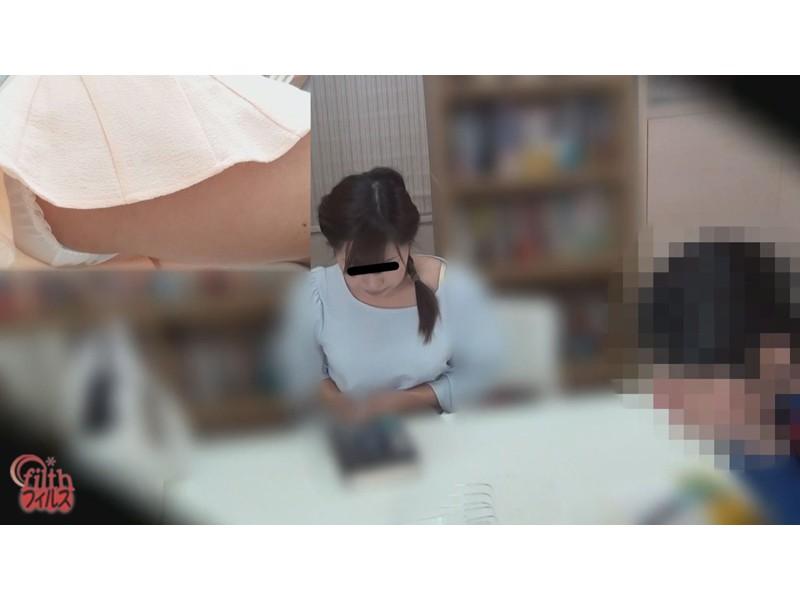 図書館娘のオナラ ~館内、静寂の中に響く恥音~ 3