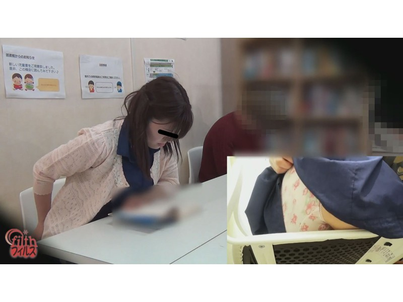 図書館娘のオナラ ~館内、静寂の中に響く恥音~ 5