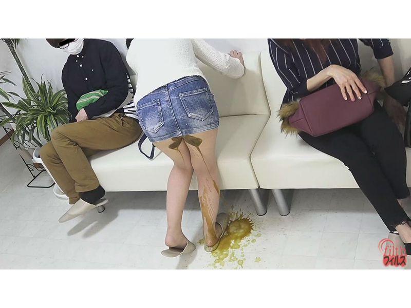 待合室で見た うんこ漏らし女! 1