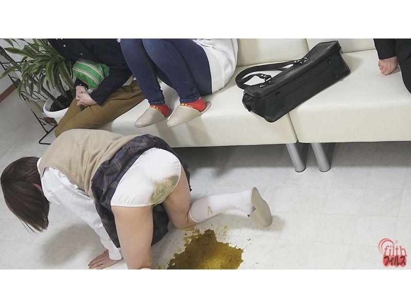 待合室で見た うんこ漏らし女! 4