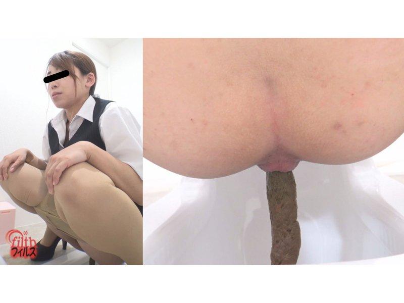 痴音排泄 オフィスレディのおならが出ちゃう!尿と大便2 5
