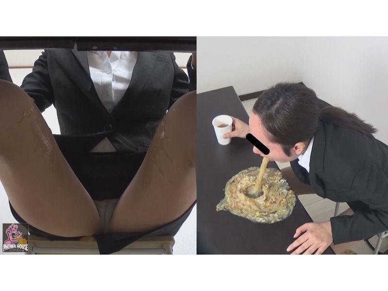 盗撮 面接失態ゲロ② 2