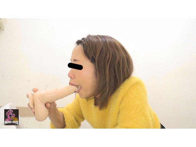 投稿動画 イラマゲロ女② 〜いっぱい食べて喉奥ディルド〜 5