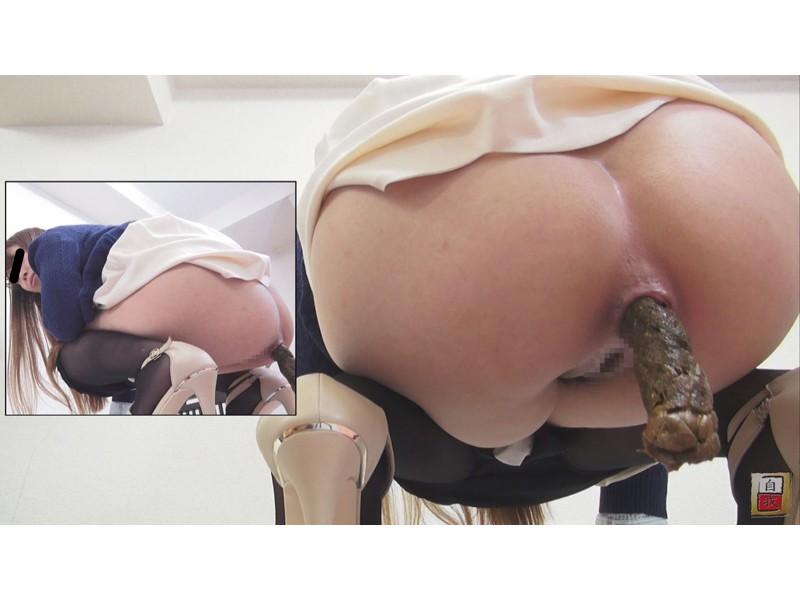 自画撮り投稿 美尻桃尻爆尻から生まれるド迫力うんこ 4