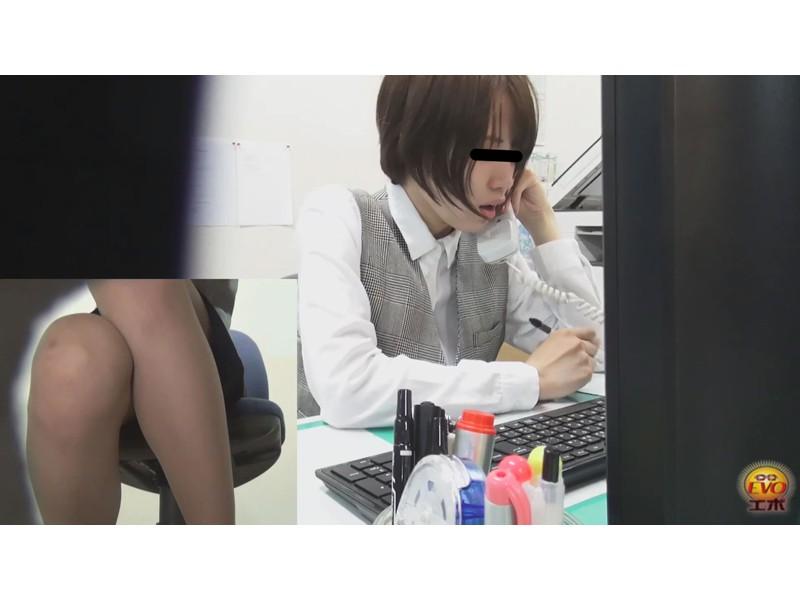 社内トイレ盗撮 美人OL達の太尿軸おしっこ 2