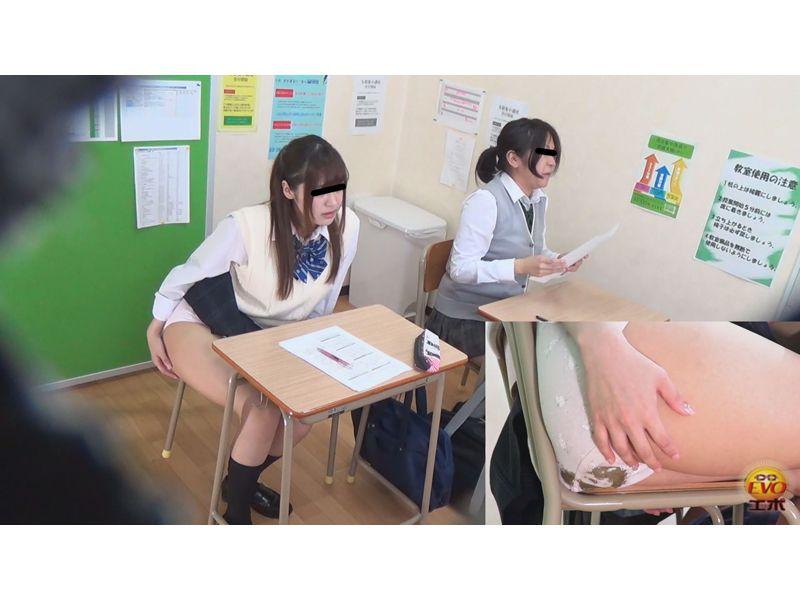 盗撮 女学生 テスト中 多発 羞恥おなら ~教室に響き渡る爆裂音~ 3