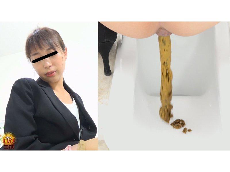 トイレ盗撮 OL羞恥音うんこ 3