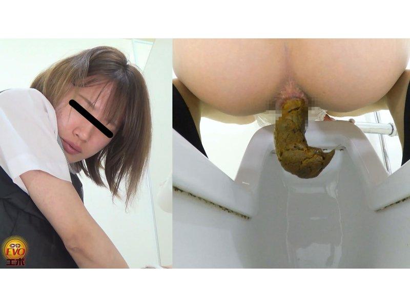 トイレ盗撮 OL羞恥音うんこ 5